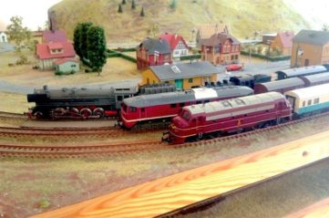 Exhibition of  Train Miniatures in the borough of Rewal (EN)